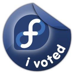 Fedora Voted